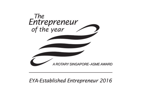 ENTREPRENEUR OF THE YEAR (AWARDED, 2016)