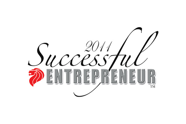 SUCCESSFUL ENTREPRENEUR (AWARDED, 2011)