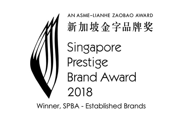 SINGAPORE PRESTIGE BRAND AWARD (AWARDED, 2018)