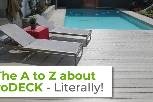 The A to Z about evoDECK Decking - EVORICH