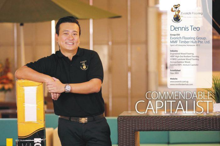Dennis Teo - EVORICH's Entrepreneurial Journey